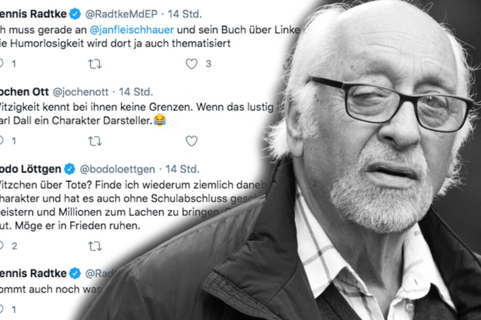 Skurriler Twitter-Zoff zwischen CDU und SPD um toten Karl Dall