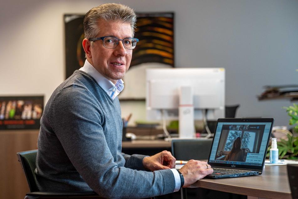 Ralph Burghart (50, CDU) beginnt am 1. April als Finanzbürgermeister.