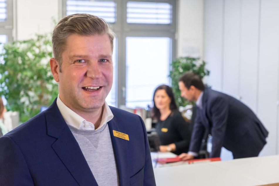 Arcaden-Chef Jens Preißler (39) plädiert für eine Beteiligung der Innenstadthändler bei der Erstellung des Parkraumkonzeptes.