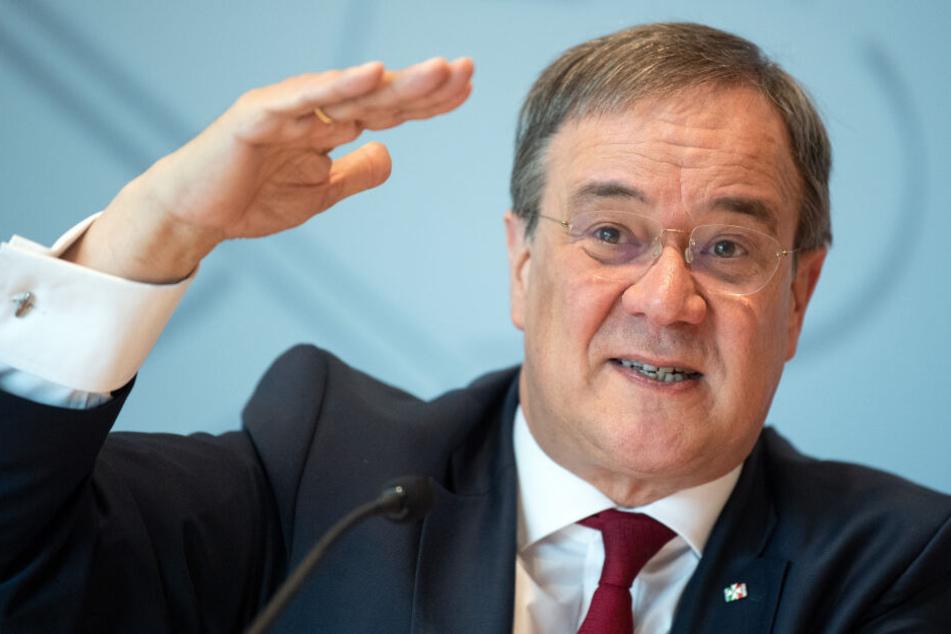 Armin Laschet (CDU), Ministerpräsident von Nordrhein-Westfalen am Montag in Düsseldorf.