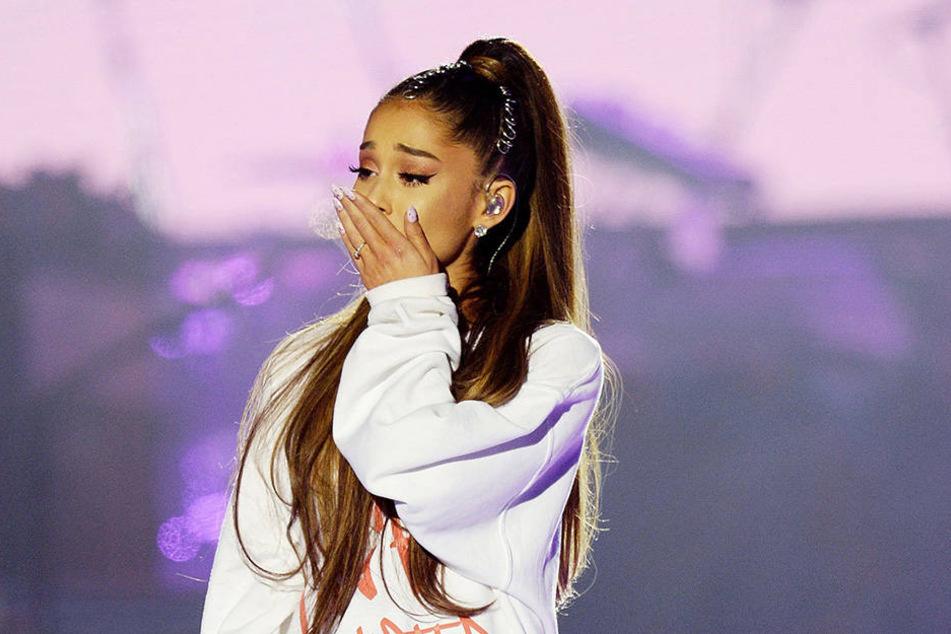Ariana Grande (24) blieb bei dem Anschlag äußerlich unverletzt.
