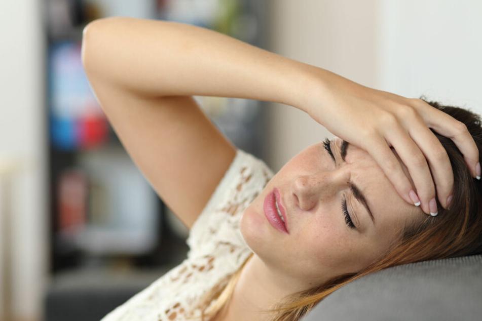 Betroffene leiden unter starken Schmerzen.