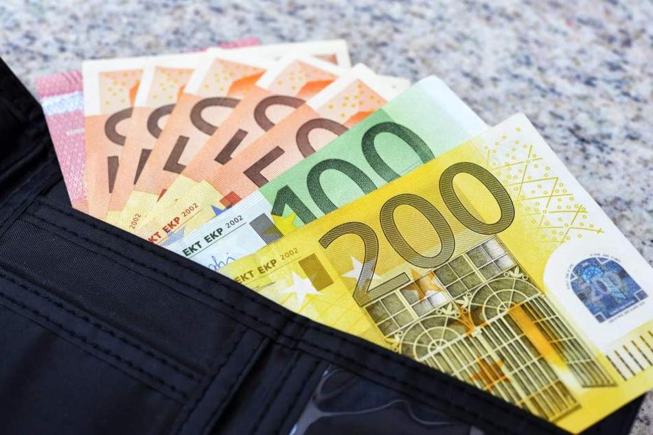 Unerwarteter Geldsegen: Mit einer halben Million Euro hätte der glückliche Lottospieler aus Dresden sicher nicht gerechnet.