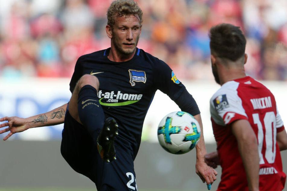 Fabian Lustenberger verlässt Hertha BSC im Sommer.