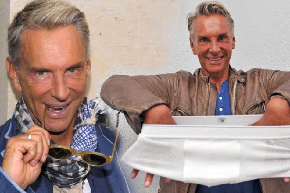 75. Geburtstag! Feiern will Modeschöpfer Wolfgang Joop das aber nicht
