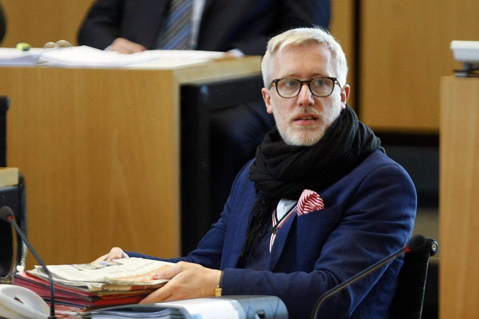 Kulturminister Benjamin-Immanuel Hoff (40, Linke).