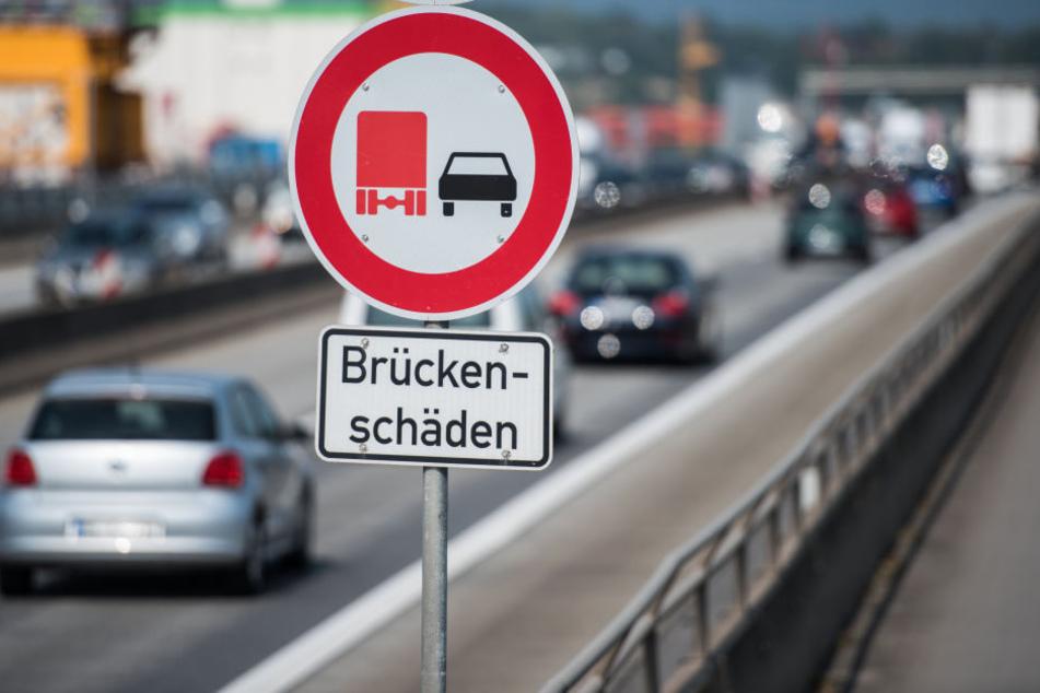 Beim nächsten Schritt der Brücken-Sanierung muss erneut mit erheblichen Verkehrsbehinderungen gerechnet werden.