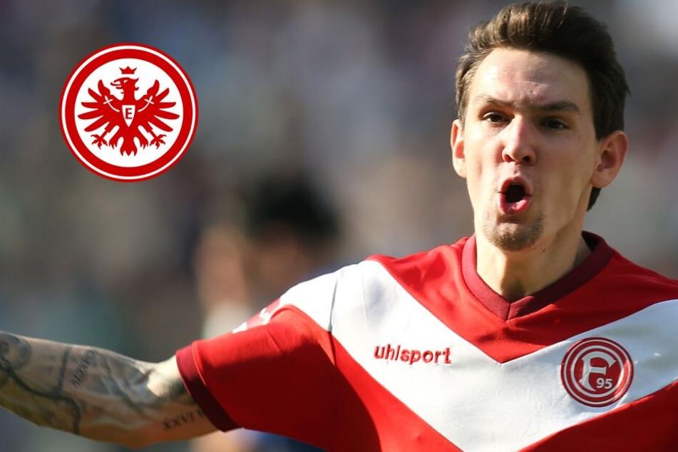 Vom Rhein an den Main? Eintracht jagt Fortuna-Torjäger Benito Raman