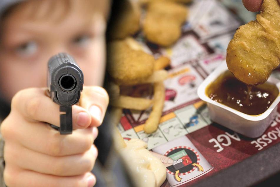 Weil seine Mitschülerin nichts von ihren Chicken McNuggets abgeben wollte, drehte ein 12-Jähriger in Manhattan durch (Symbolbild).