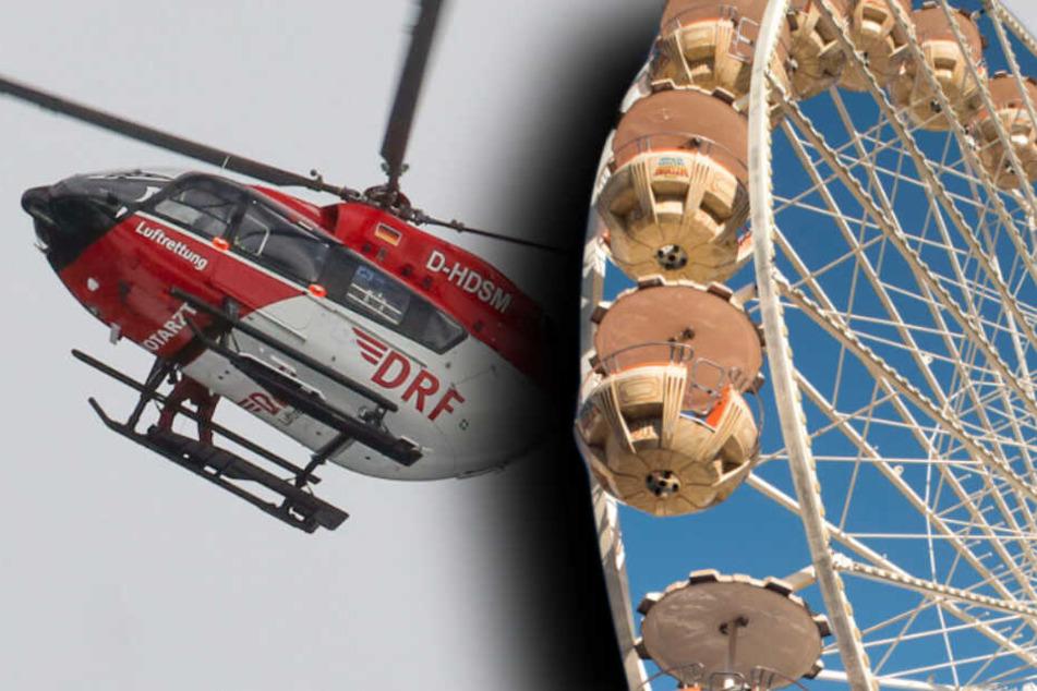 Tödlicher Unfall: Mann stürzt bei Open Beatz Festival aus Riesenrad