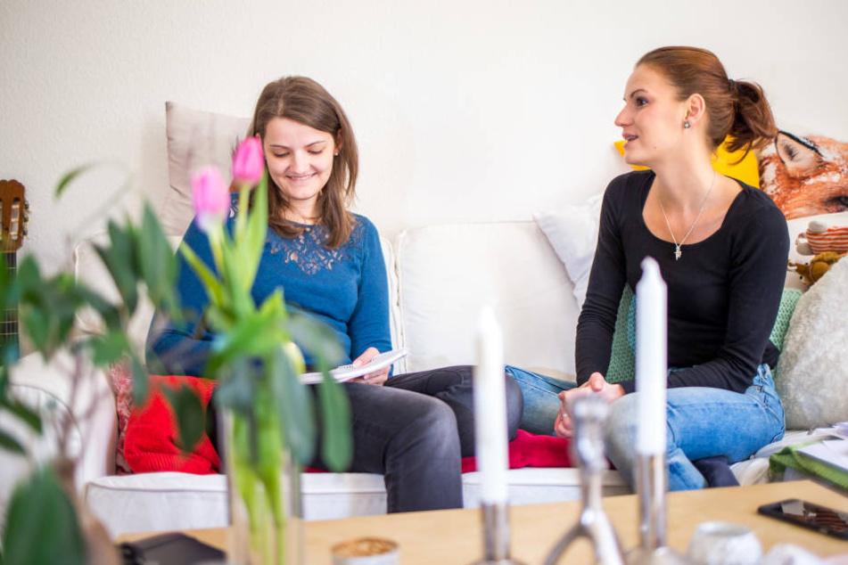 TAG24-Redakteurin Antje Ullrich zu Gast in Louisas Leipziger Wohnung.