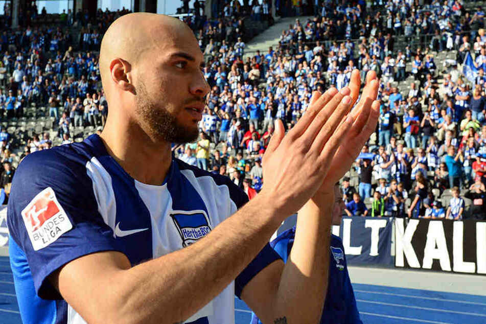 """Die Hertha-Fans konnten gar nicht """"Tschüss"""" sagen: John Anthony Brooks zieht es nach Wolfsburg."""