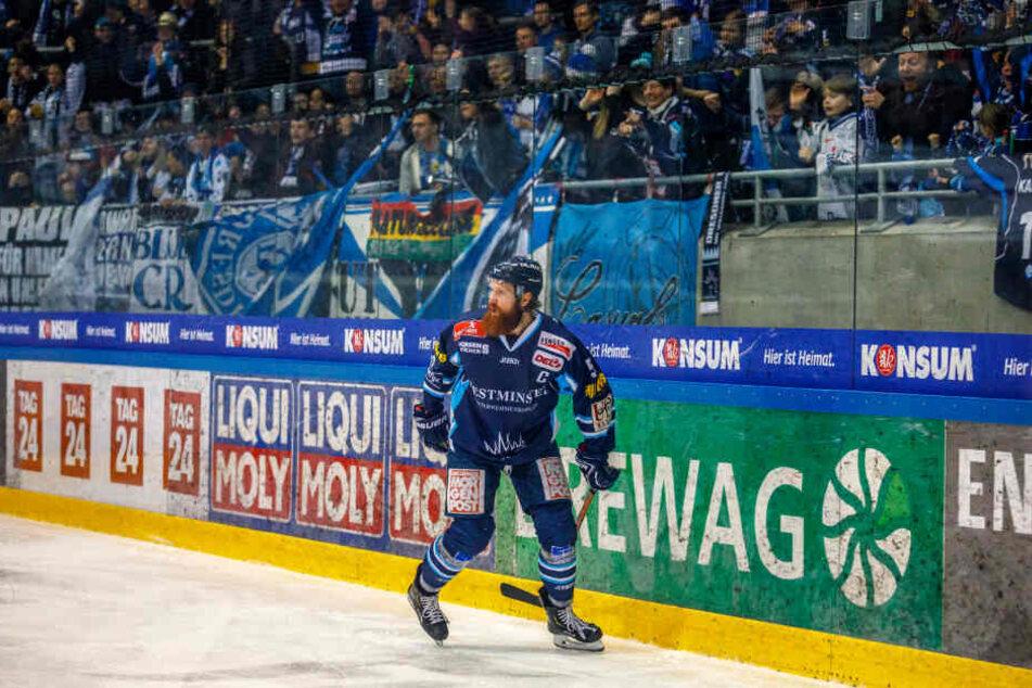 Es ist wieder da! Thomas Pielmeier strotzt nach seinen beiden Treffern wieder vor Selbstvertrauen.