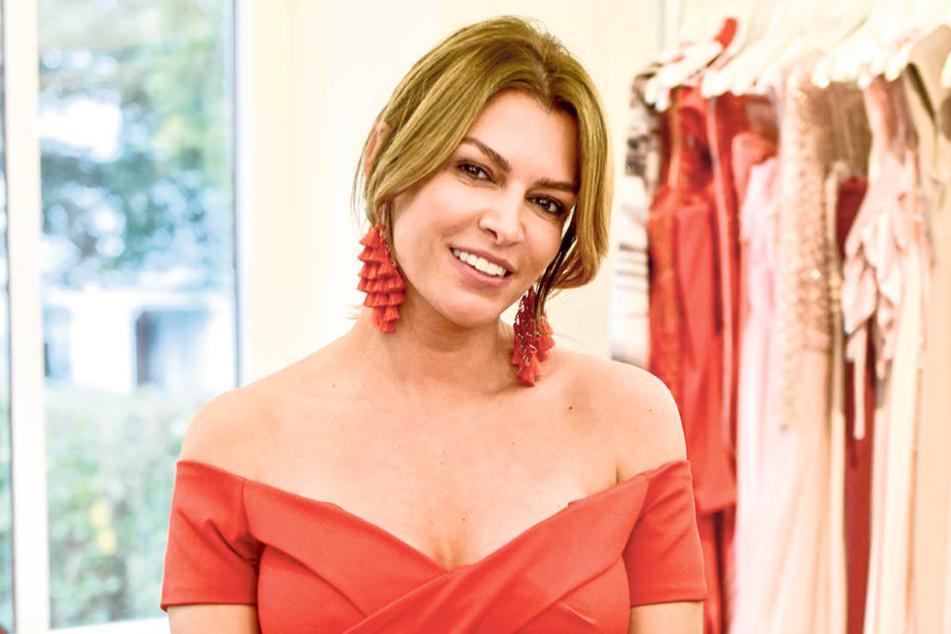 """Sabia Boulahrouz (39) bei """"Promi Shooping Queen""""."""