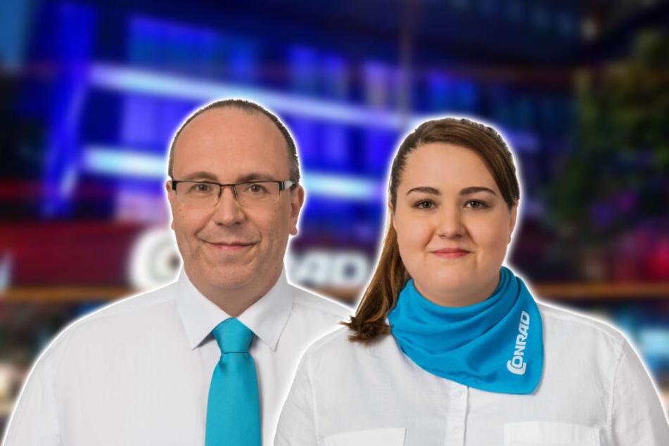 Stefan Przewozny und Paola Sessa beraten alle Geschäftskunden als Businesskunden-Betreuer umfassend.