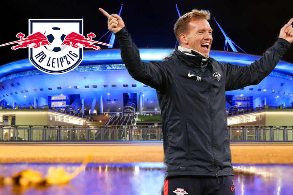 Champions League: RB Leipzig will auch Zenit mit Gier aus dem Russen-Kessel ballern