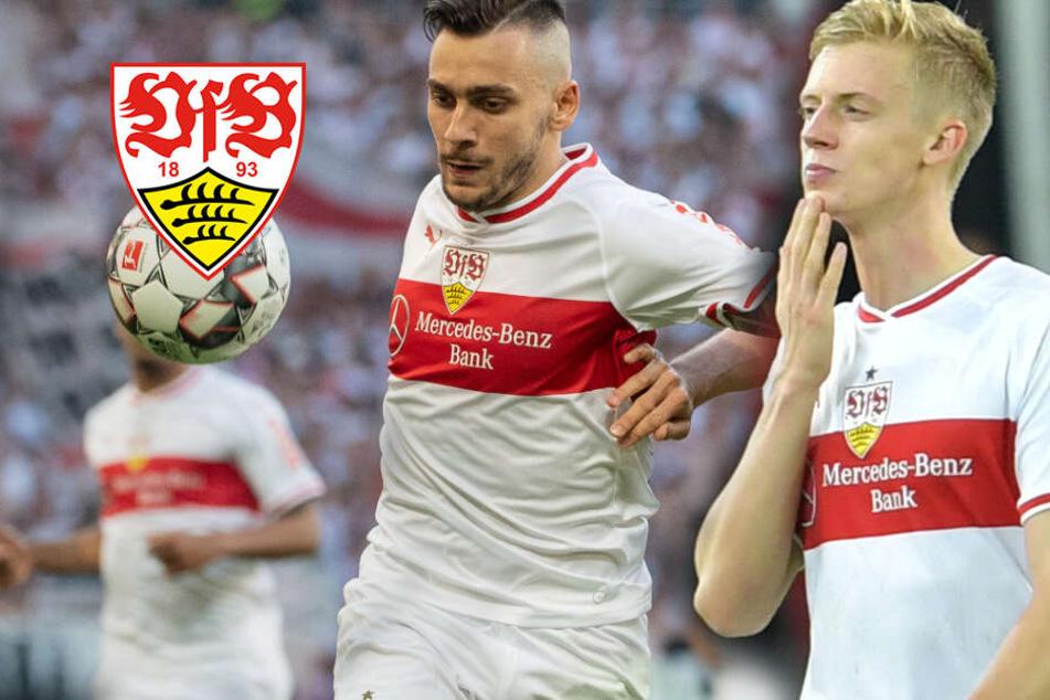 VfB Stuttgart: Was passiert mit Anastasios Donis und Timo Baumgartl?