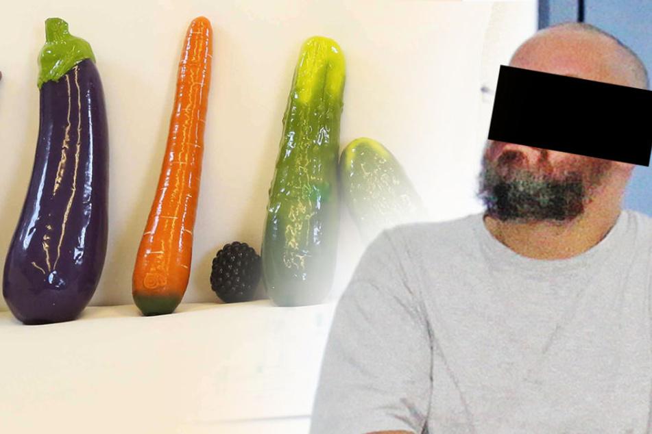 Kein Spaß! Dildo-Händler zockt Kunden mit Sex-Gemüse ab