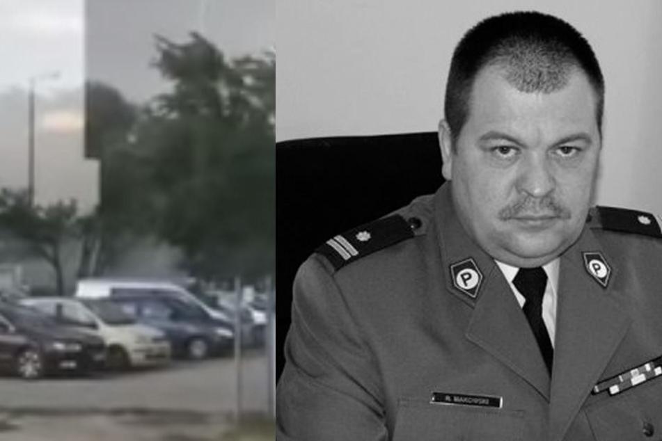 Der stellvertretende Bürgermeister von Wolomin starb bei einem Unwetter.