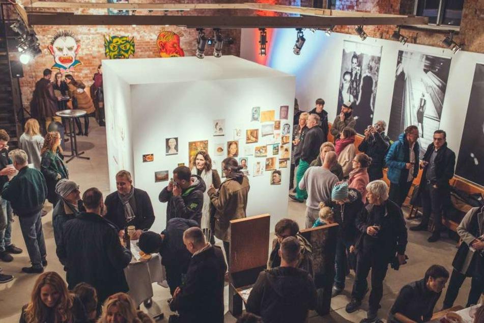 Die Kunstausstellung im Leipziger Kesselhaus ist noch an den kommenden drei Dezember-Wochenenden zu bestaunen.
