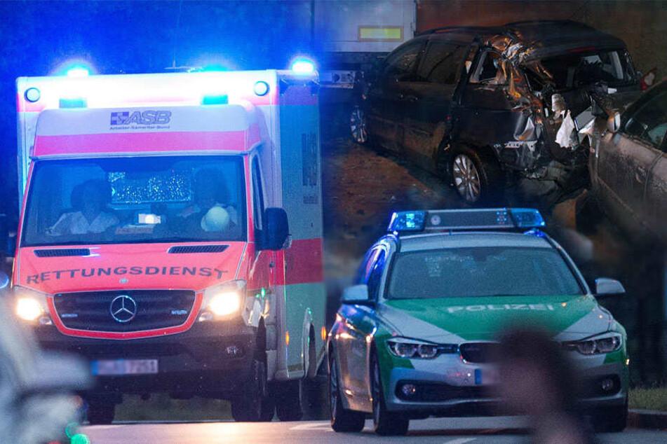 Der Mann wurde von den Rettungskräften in ein Krankenhaus gebracht. (Symbolbild)