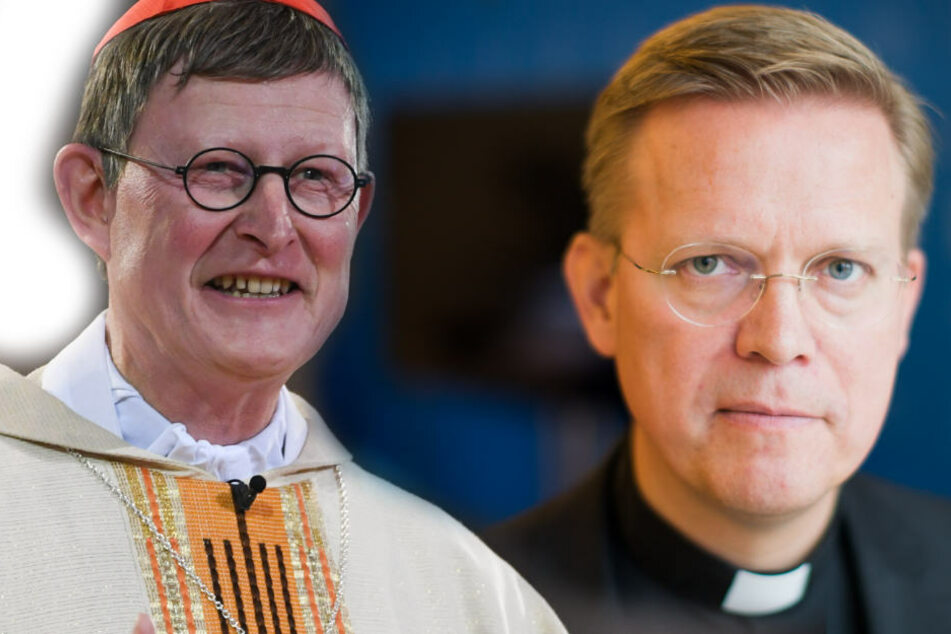 Kardinal Woelki (61, l.) und der Generalvikar Dominik Meiering (48, r.).