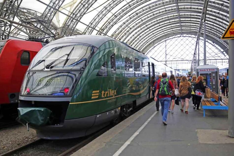 Trilex-Züge zwischen Dresden und Zittau fahren nur eingeschränkt.