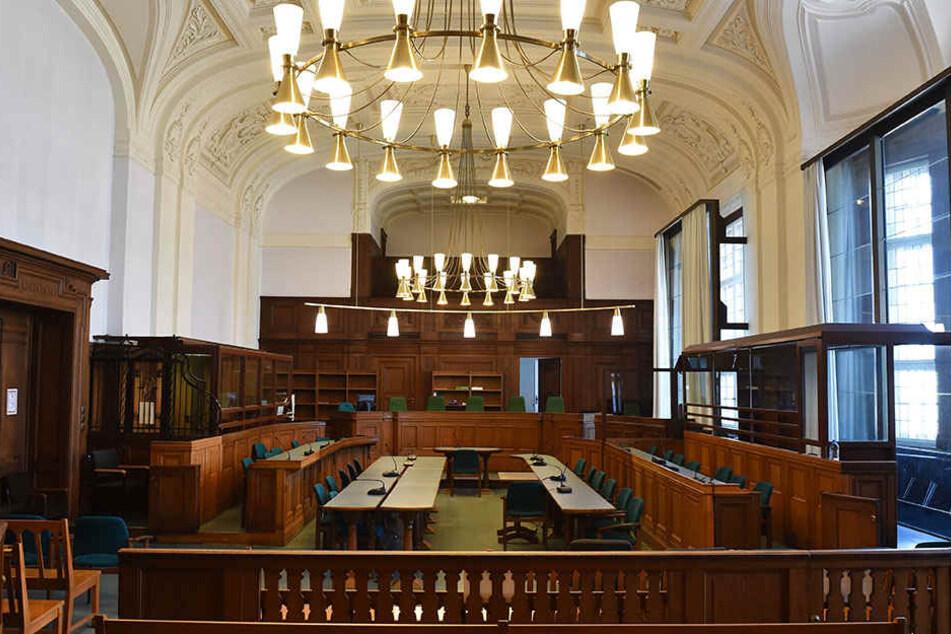 Ein Gerichtssaal in Berlin. (Symbolbild)