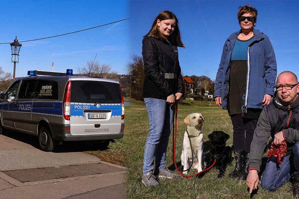 Giftköder-Alarm auf Dresdner Elbwiesen: Polizei macht Jagd auf Tierquäler