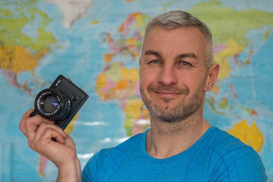 Jörg Baumgarten (38) hat das ungewöhnliche Fotoprojekt gestartet.