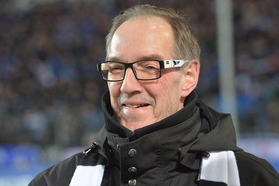 Hans-Jürgen Laufer erklärt die Entlassung von Geschäftsführer Gerrit Meinke.