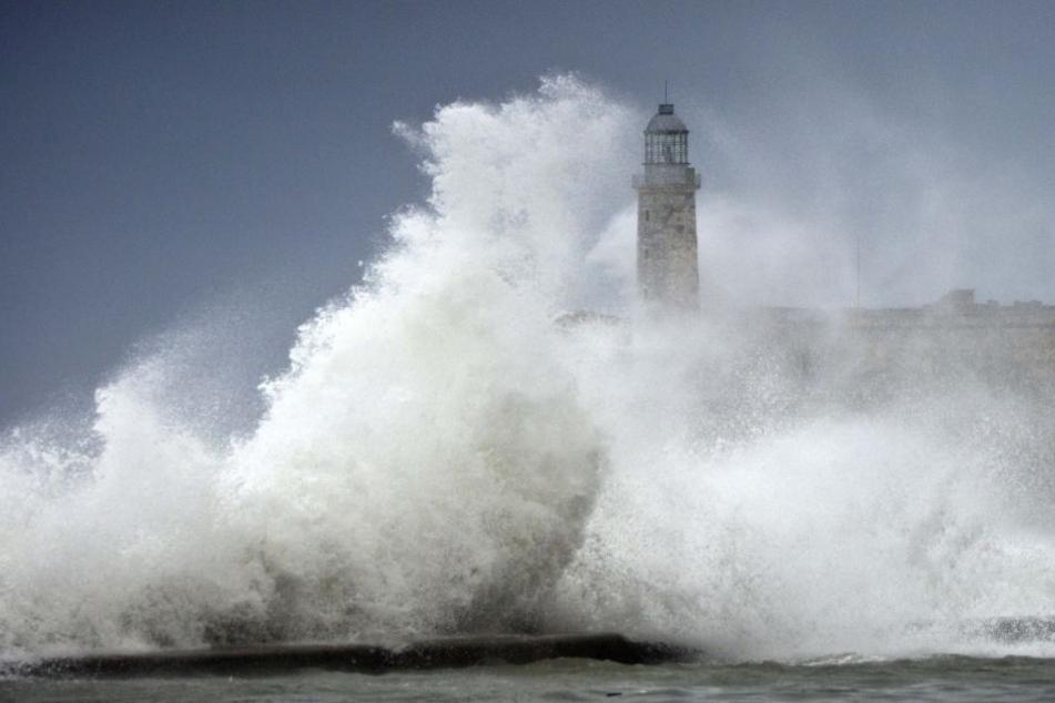 """Wellen, die über vier Meter hoch waren. """"Irma"""" erwischte Florida mit voller Kraft."""