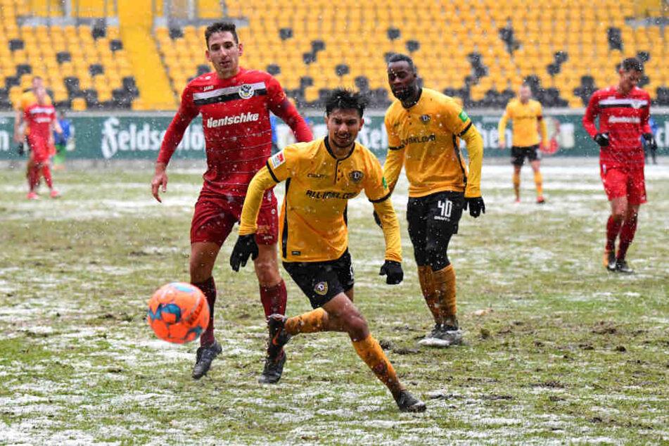 Osman Atilgan traf zum 1:0.
