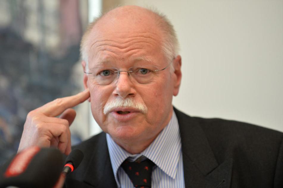 Bremens Innensenator Ulrich Mäurer (SPD).