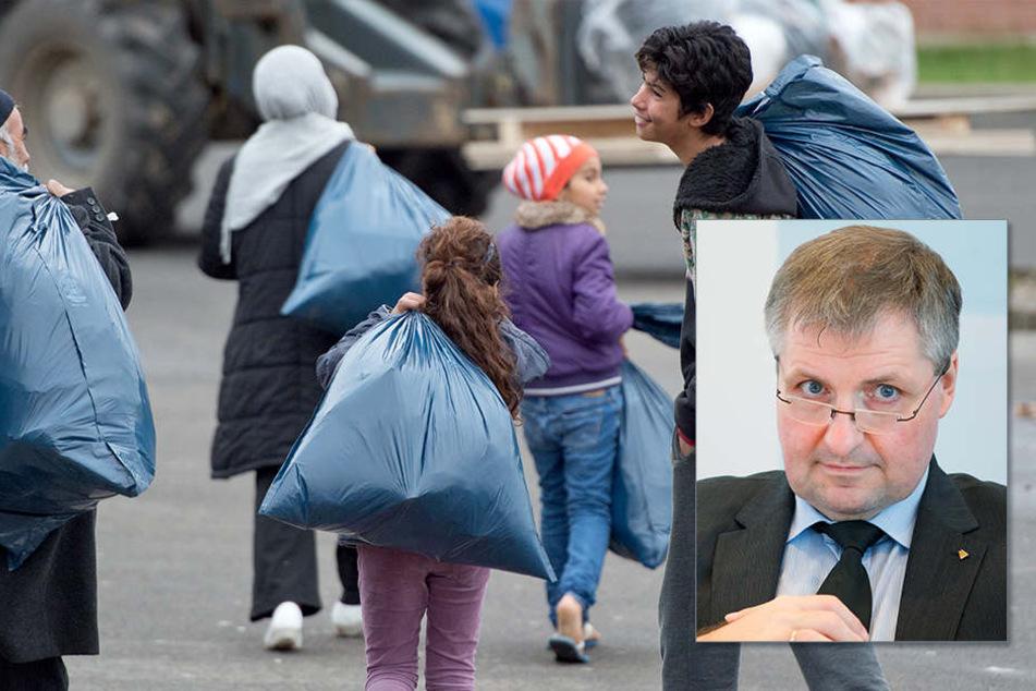 """Generalsekretär Wolfgang Steiger: """"Zur ganzen Wahrheit gehört, dass seit 2015 rund eine Million Zuwanderer neu in Hartz IV gefallen sind."""""""