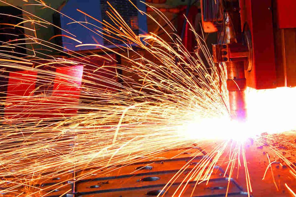 Vor allem die Metallindustrie hat einen enormen Wachstum verzeichnen können (Symbolbild).