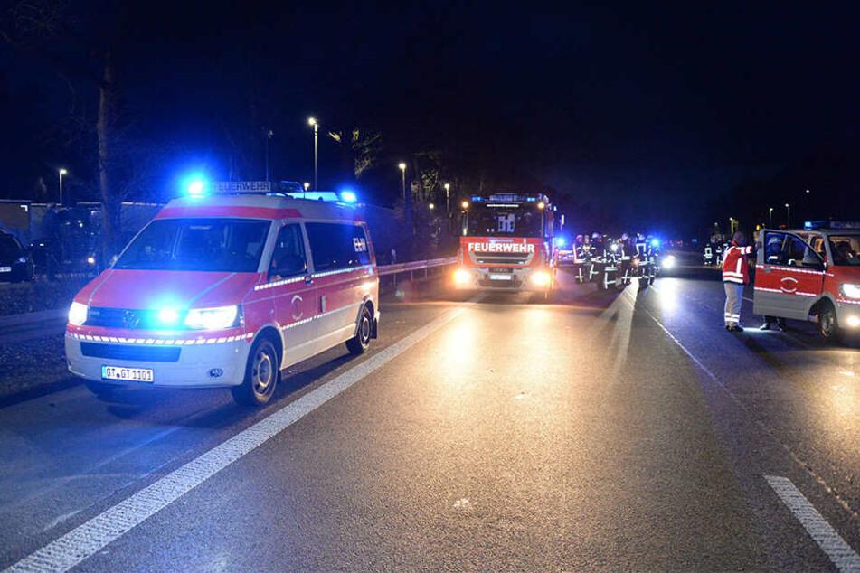 Zu einem drei Kilometer langen Rückstau kam es nach dem Unfall.
