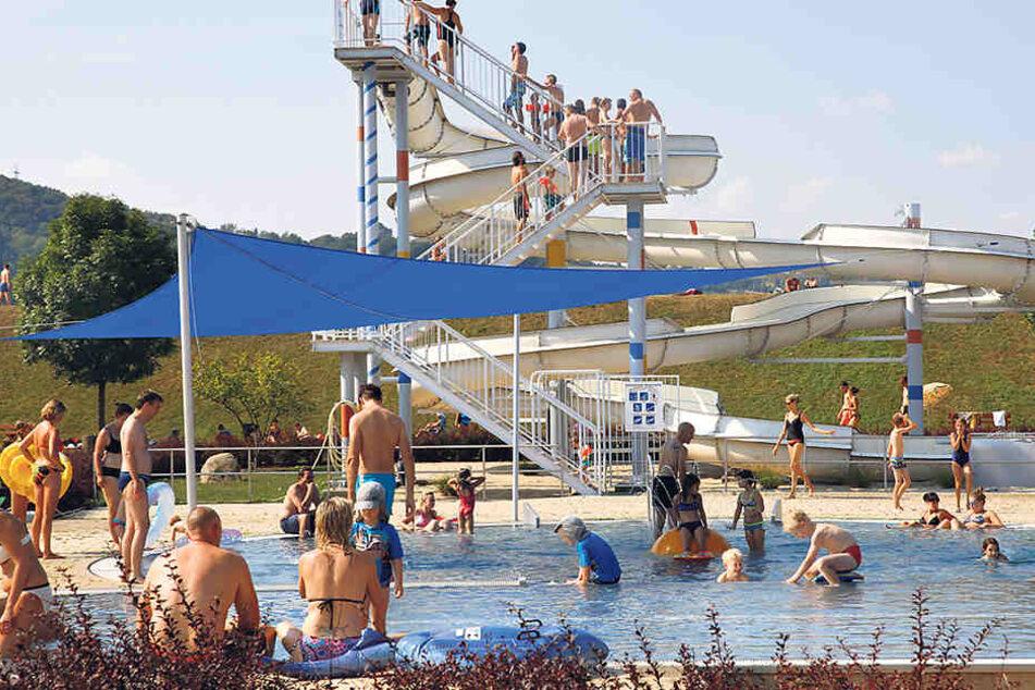 Geöffnet haben noch bis zum 16. September die Bäder Langebrück, Cossebaude,  Mockritz, beide Wostra-Bäder und Cotta.