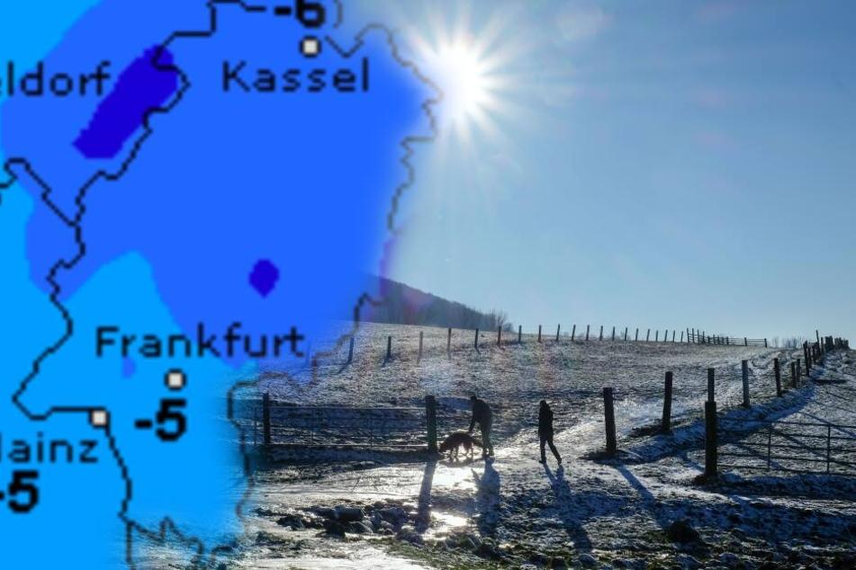 Das große Frieren in Hessen nimmt kein Ende