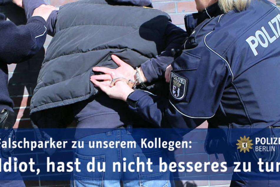 Wegen Beleidigung und Widerstand wurde ein Porschefahrer am Donnerstag verhaftet.