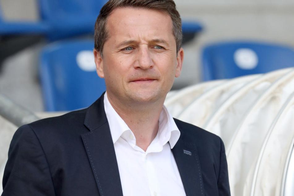 Sportdirektor Thomas Sobotzik freut sich über Neuzugang Nummer drei.