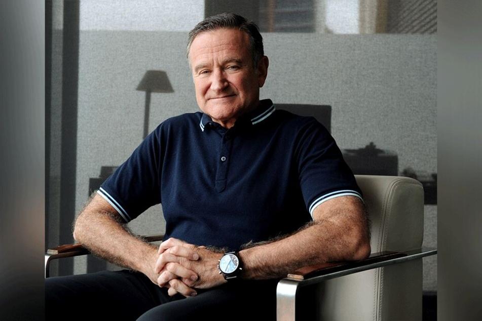Robin Williams während eines Gesprächs im Dezember 2011 in Sydney, Australien.