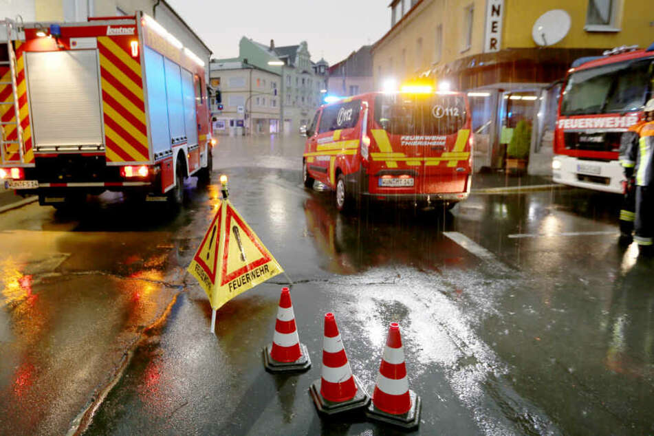 Der Hochwassernachrichtendienst Bayern hat eine erhebliche Warnung herausgegeben. (Symbolbild)