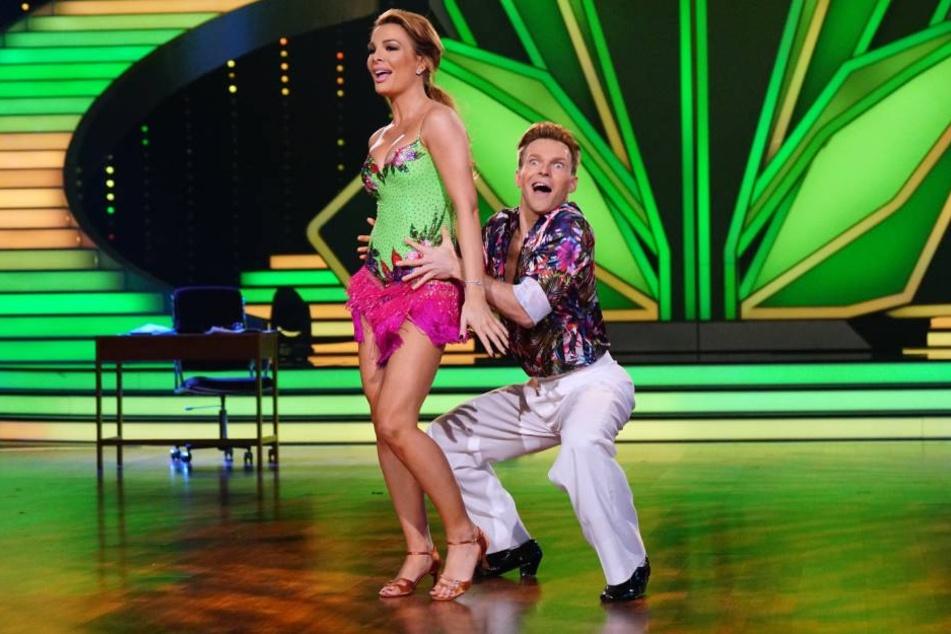Chiara Ohoven und Vadim Garbuzov landeten auf den letzten Platz und sind damit raus.