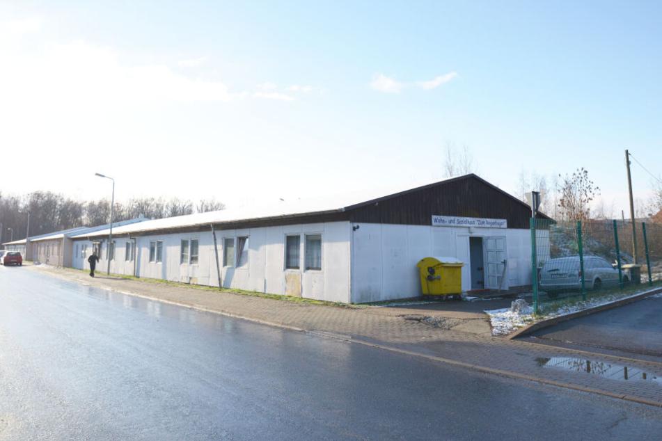 """Das Wohn- und Sozialhaus """"Zum Regenbogen"""" in Zwickau-Pölbitz."""