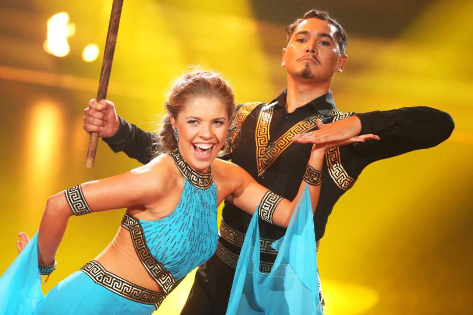 """Mit Victoria Swarovski als Tanzpartnerin gewann Erich Klann 2016 die RTL-Tanzshow """"Let's Dance""""."""