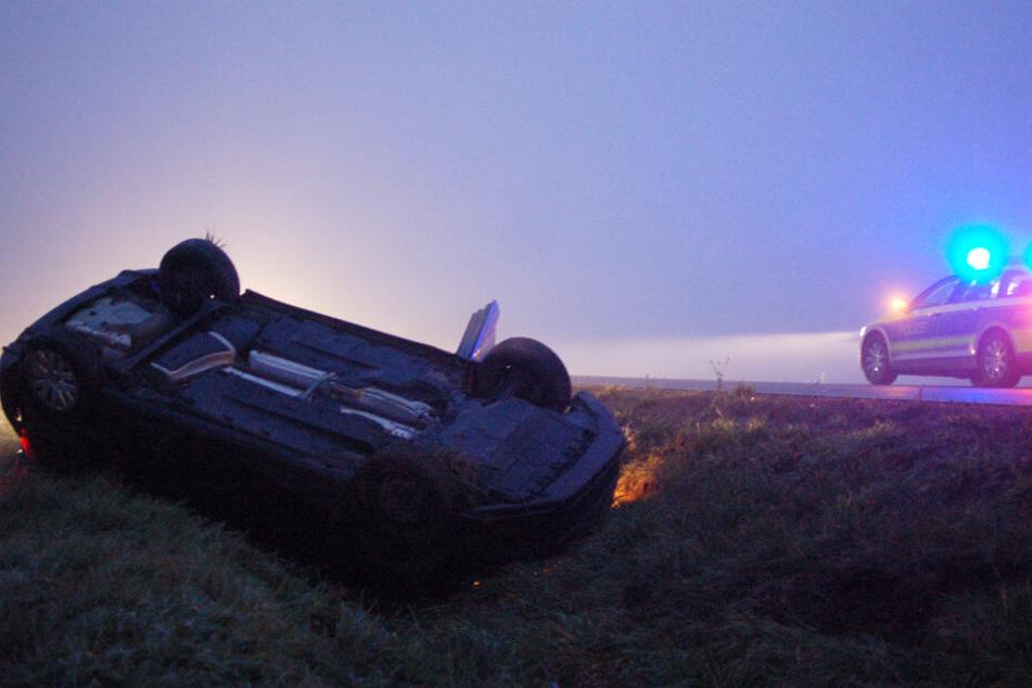 Auf der S38 zwischen Pomßen und Grethen kam es Montagmorgen zu einem schweren Unfall.