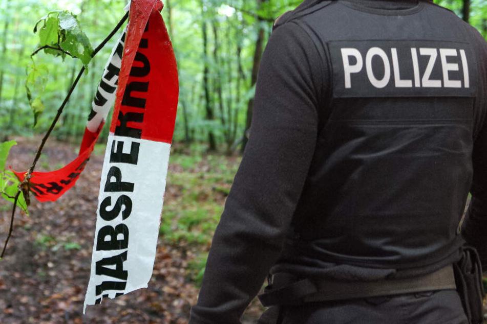 Die Polizei durchsuchte am Dienstag ein Waldstück in Frankfurt-Nied (Symbolbild).