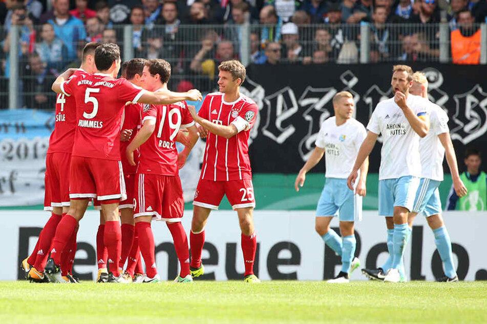 0:5 unterlag der CFC den schier übermächtigen Bayern.