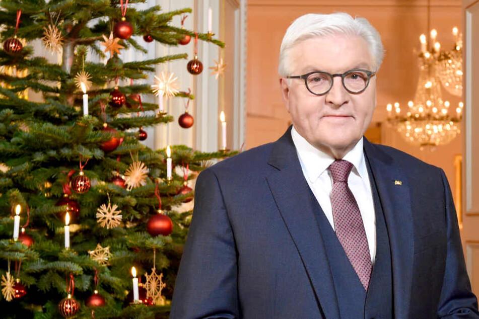 """Steinmeier in Weihnachtsansprache: """"Auch bei uns gibt es Ungewissheit, Ängste und Wut!"""""""